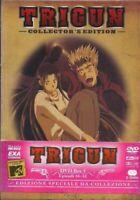 TRIGUN COLLECTOR'S EDITION, DVD BOX 3 EPISODI 16-22, NUOVO sigillato