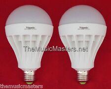 2X LED Light Bulb 15W Lamp=125W Oversized Replacement 600 Lumens White Daylight
