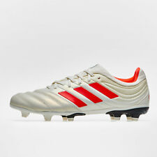 adidas Mens Copa 19.3 FG Football Boots Studs Trainers Sports Shoes White