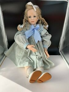 Hildegard Günzel Wax Over Porcelain Doll 67 Cm. 1/20 Top Condition