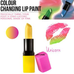 Barry M MakeUp Cosmetics Unicorn Lip Paint Colour Changing Natural Pink Lipstick