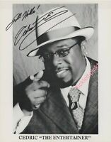 Actor and stand up comedian, Cedric The Entertainer- signed 8x10 Photo COA
