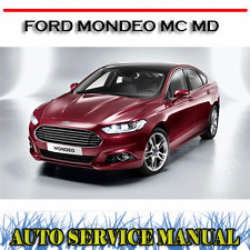 FORD MONDEO MC MD 2013-2015 WORKSHOP SERVICE REPAIR MANUAL ~ DVD