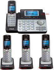 Vtech DS6151 DECT 6.0 2-Line Cordless Phone with 3 DS6101 Telephone Bundle Set