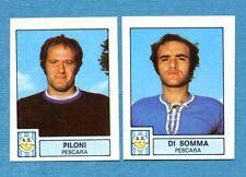 CALCIATORI 1975-76 Panini - Figurina-Sticker n. 493 -PILONI#DI SOMMA-PESCARA-Rec