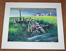 ROBERT ADDISON Signed Serigraph SPRING 1977 - LISTED ARTIST Chicago Fine Art $$