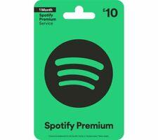 Spotify 10 Pounds GBP UK Gift Card