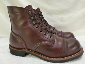 Red Wing Iron Ranger 8119 Oxblood Work Dress Mens Boots 5.5D $465 Mint++