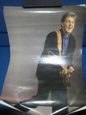 Paul McCartney All The Best Japan Promo Poster by Toshiba EMI Beatles Epiphone