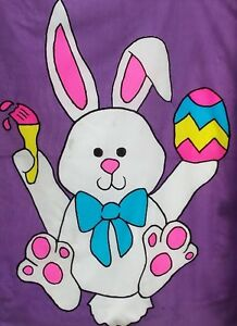 Painting Easter Bunny Standard House Flag by NCE #60301