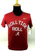 Nike ALABAMA Crimson Roll Tide Red Athletic Cut Tee T-Shirt Mens Small