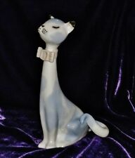 """Pales Sl Porcelain Kitty Cat Figurine Made in Spain Tall Contemporary Style 8 """""""