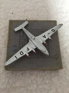 Dinky Toys Aircraft Imperial Airways Liner De Havilland Frobisher 62w- Original.