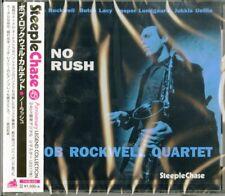 BOB ROCKWELL QUARTET-NO RUSH-JAPAN CD Ltd/Ed C94