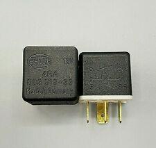 Hella 12V 4 Pin Relay 4 RA 003 510-33 ~ SET OF 2 ~ Fits JAGUAR XJ6 + ~ GERMANY