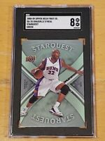 2008 Upper Deck Starquest Green Shaquille O'Neal SGC 8 Rare