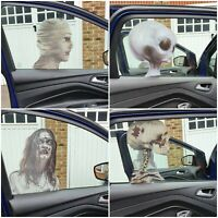 HALLOWEEN Car Window Pretend STICKERS DECORATION SCARY PARTY DECAL IT Bumper
