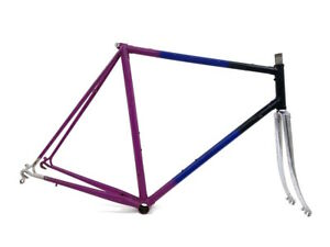 Steel Bicycle Frame 57cm 28/700c Road Racing Touring Classic Vintage Bike