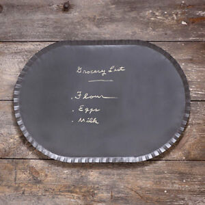 Hanging new Oval crimped Blackboard