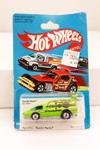 Hot Wheels Spoiler Sport #9641 Hong Kong 1980 Green MIP