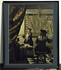 Vermeer- Painter in his Studio 1668-Vintage repro (1971)