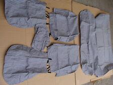 Foderine coprisedili seat covers in cotone a quadretti per Opel Ascona
