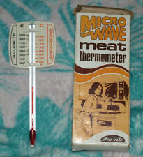 Vintage in original box Acu-rite Microwave Meat Thermometer roast/kitchenalia