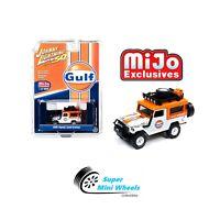 Johnny Lightning 1:64 Mijo Exclusive Toyota FJ40 Land Cruiser GULF Racing 4X4