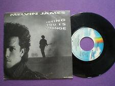 MELVIN JAMES Loving You SPAIN PROM0 45 1987  Power Pop Crash Street Kids