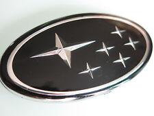 Front Grille Badge Emblem Black Subaru Impreza Liberty Legacy Forester Free Ship