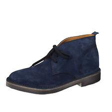 Herren schuhe MOMA 41 EU desert boots blau wildleder AB327-B