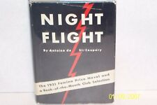 Night Flight Antoine De Saint-Exupery  First Edition 1932 USA hardcover W/jacket