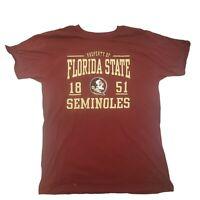 FSU Florida State Seminoles T-SHIRT  Logo Size Large 1851 Property of