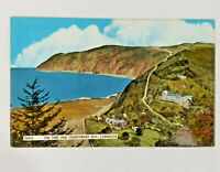 Vintage Postcard The Tors and Countisbury Hill Lynmouth Landscape UK