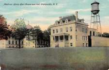 Wampsville New York Madison County Courthouse and Jail Antique Postcard J59483