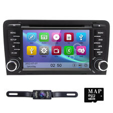 CAMERA+Car Navigation DVD Player FOR AUDI A3 GPS Stereo Radio Bluetooth Mp3 Unit