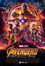 "MARVEL's AVENGERS INFINITY WAR 13.5""x20"" Original Promo Movie Poster MINT 2018"