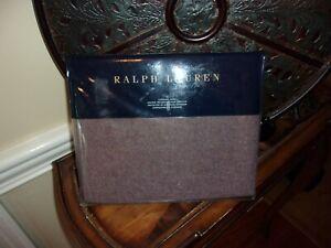 NIP Ralph Lauren Great Compton Riverport Purple 100% Wool Standard Sham