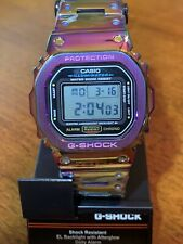 ✫ Casio G-Shock GMW-B5000-D1 Modified Metal Silver CASE withDW-5600 internals