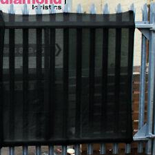 80% Shade Netting Windbreak Fabric Privacy Sceening Garden Net, Black 2m x 20m
