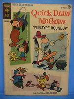 Quick Draw McGraw Fun-Type Roundup 12 1962 Dell Comic Book, Hanna Barbera VG