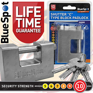 Shipping Container Lock HEAVY DUTY 94mm Padlock High Security Shutter Chain Lock