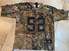Ray Lewis Salute to Service Baltimore Ravens American Football Jersey Shirt XL