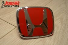 GENUINE HONDA CIVIC TYPE R PREFACELIFT EP3 EP2 RED H FRONT BADGE - 2001-2003