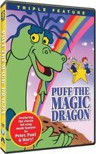 Puff the Magic Dragon - Triple Feature [New DVD] Full Frame, Mono Sound, Amara