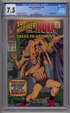 TALES TO ASTONISH #94 CGC 7.5 HIGH EVOLUTIONARY & DRAGORR APP WHITE PAGES