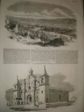 Sketches in Central America Honduras and San Salvador 1859 prints ref AX