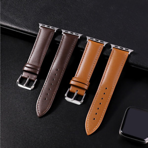 Luxury Leather Bracelet Strap For Apple iWatch Band Series 6 5 4 3 2 1 SE