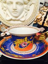 VERSACE PRIMAVERA MEDUSA CUP AND PLATE SET NEW AUTHENTIC 300$ SALE
