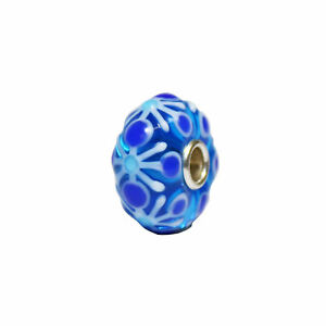 *Collectors Item* Trollbeads Winter Forest  Collection Bead TGLBE-00146-B